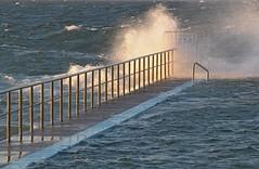 Wild seas (Wanda Amos@Old Bar) Tags: sunset sea surf waves barrier bullring rockpool seapool oceanbaths forsteroceanbaths wandaamos