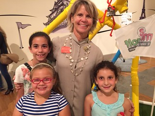 Coral Gables Museum director Chris Ruppman with fans of the museum at the recent gallery night opening