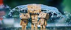Water Umbrella (Art by Vins) Tags: cute water umbrella toy toys photography amazon bokeh story kawaii 5d pepsi tamiya yotsuba danbo revoltech danboard 5dmarkii 5dmkii