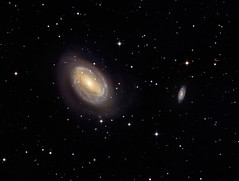 NGC 4725 The Ringed Galaxy (drdavies07) Tags: ngc4725 ngc4712 ringedgalaxy