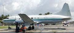 Convair 440 N41527 (707-348C) Tags: florida cargo piston prop airliner freighter kopf convair opalocka convair440 miamiairlease n41527