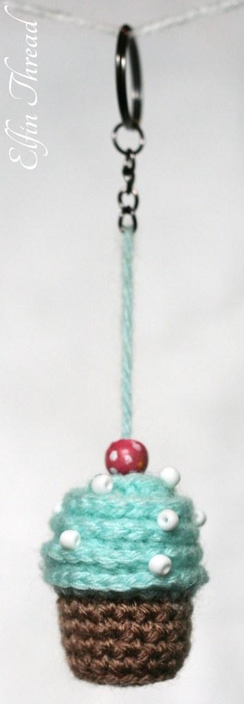 Amigurumi Cupcake Keychain : The Worlds Best Photos of crochet and cupcake - Flickr ...