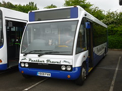 VB08 PAN (markkirk85) Tags: new travel bus ex buses day rally nelson running solo pan panther clacton dhm 2015 optare tyrer 32008 mx08 vb08 mx08dhm vb08pan