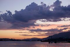 north shore sunset (gunstreet.girl) Tags: ocean sunset clouds pier northvan londsdalequay