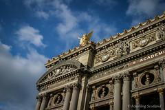 Palais Garnier  (Paris Opera) (FotoFling Scotland) Tags: paris france theatre operahouse palaisgarnier parisopera