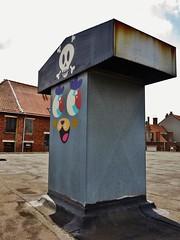 Bué the Warrior / Kerkstraat - 22 juli 2015 (Ferdinand 'Ferre' Feys) Tags: streetart graffiti belgium belgique bue belgië urbanart graff ghent gent gand graffitiart arteurbano artdelarue bué urbanarte buéthewarrior