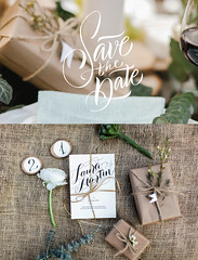Wedding invitations (katska_ya) Tags: wedding invitation lettering deco