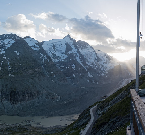 Sunset over the Großglockner