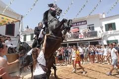 Fornells local festivities (el vuelo del escorpin) Tags: party summer horses horse caballo caballos fiesta verano menorca