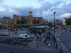 London King's Cross at dusk (looper23) Tags: london station train cross rail railway august kings 2015