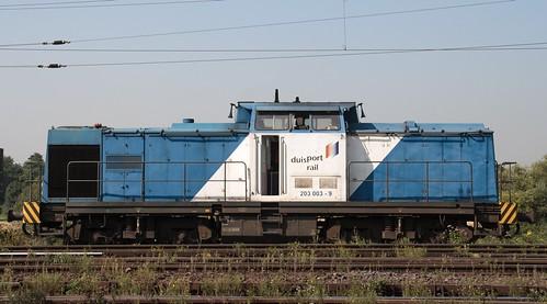 07.09.2005 Duisburg Abz Ruhrtal. duisportrail 203 003 Lz Abz Lotharstrasse
