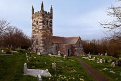 St Wynwallow's church Landewednack Cornwall 2011 (hz536n/George Thomas) Tags: canon5d 2011 april cs5 cornwall ef24105mmf4lisusm norman spring stwynwallow architecture england landewednack serpentine granite