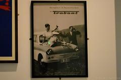 Trabant Poster (Bri_J) Tags: imperialwarmuseumnorth traffordpark manchester uk iwm iwmnorth nikon d7200 trabant poster car carposter eastgermany ddr duroplastinpastellfarben