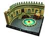 Warcraft - Mana Pool (Disco86) Tags: lego moc colossal castle contest xxiv medieval fantasy warcraft movie ork wizard tower led lights golem mosaic