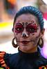 Catrina en Coyoacan 103 (L Urquiza) Tags: girl catrina coyoacán did de los muertos mexico ciudad city