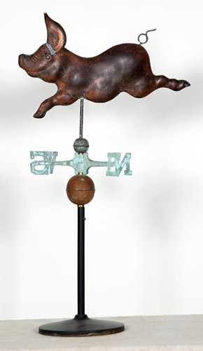 Pig Weather Vane ($448.00)