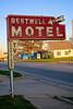 Restwell Motel, Salem, IL (Robby Virus) Tags: salem il illinois restwell motel sign signage neon closed momandpop