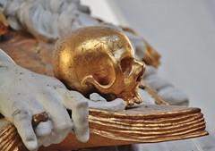 Wieskirche (CA_Rotwang) Tags: kirche church barock oberbayern wies weltkulturerbe world heritage kunst death allegorie tod schädel skull gold bayern bavaria germany deutschland art statue