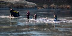 Fishing Fun (nikons4me) Tags: iowa ia bentoncounty hannenlake icefishing winter sunny nikond70 tamronaf70300mmf4056ldmacro