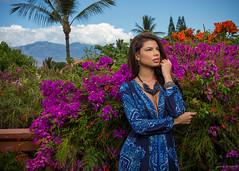 Chrystiane' (Gary Fikes) Tags: maui hawaii model love sun flowers beautiful canon photographer photography fashion dress summer incompletestrobistinfo removedfromstrobistpool seerule2