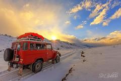 Into Wild ... (SMBukhari) Tags: pakistan deosaiplains winter skardu gilgitbaltistan jeep smbukhari syedmehdibukhari adventure landsacpe red snowymoutains nature wilderness