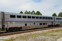 AMTRAK SUPERLINER II SLEPPER #32116 AT SANFORD, FL (railfan1967) Tags: amtrak superliner ii sleeper 32116 phase ivb auto train sanford florida
