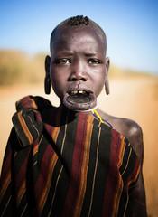 Etiopia (mokyphotography) Tags: etiopia mursi people persone portrait ritratto boy ragazzo omovalley valledellomo