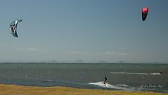 Dual adventurers (idunbarreid off / on) Tags: windsurfers canon5dmk111