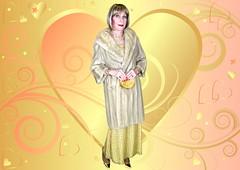 DSC08043CK (msdaphnethos) Tags: crossdresser transgender blonde gold mink daphnethomas