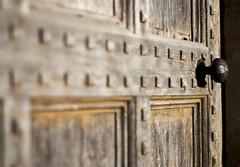 Weather worn (scarbrog) Tags: wood texture door handle squares depthoffield dof angles corners edges weatherworn weatherbeaten