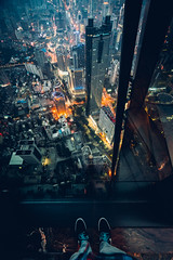 Getting High at the St. Regis, Shenzhen, China (Todd Danger Farr) Tags: china spg stregis shenzhen building city citylights night architecture skyscrapper