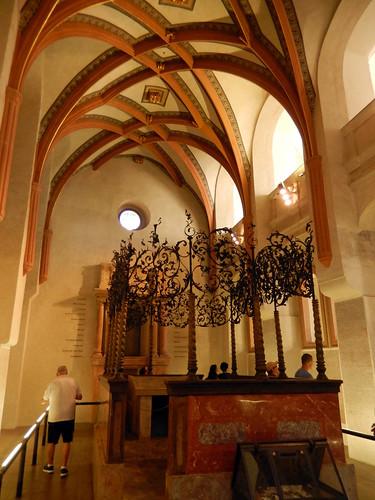 Inside the Jewish Museum, Prague