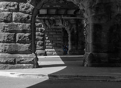 central (Greg Rohan) Tags: outdoor central underpass photography d7200 2016 column architecture monochrome