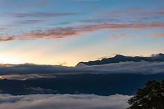 IMG_4338-39 (JIMI_lin) Tags: taiwan 台東 鹿野鄉 鹿野高台 日出 sunrise 火燒雲 雲海 霞光