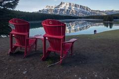 IMG_9938 (RosieNiawm) Tags: canada canadianrockies twojacklake lakeminnewanka mountrundle