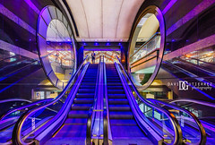 """Inner Circle"" Charing Cross Station, London, UK (davidgutierrez.co.uk) Tags: london architecture art city photography interior davidgutierrezphotography nikond810 nikon urban travel color londonphotographer photographer uk charingcross londoncharingcross circles blue reflections design building colors colour colours colourful vibrant buildings england unitedkingdom 伦敦 londyn ロンドン 런던 лондон londres londra europe beautiful cityscape davidgutierrez capital structure britain greatbritain ultrawideangle afsnikkor1424mmf28ged 1424mm d810 arts landmark attraction architecturaldesign luxury vivid escalator"