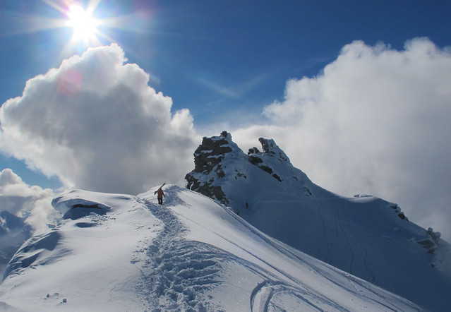Hiking The Summit, Treble Cone (10 August 2013)