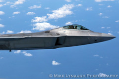 F-22 Raptor - Air to Air photo flight with the 77th Air Refueling Squadron (mikelynaugh) Tags: fighter aviation military jets jet raptor f22 airforce ars airtoair unitedstatesairforce refueling 77th fighterjet f22raptor airrefueling seymourjohnson 77thars