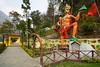 India - Sikkim - Legship - Shiv Mandir Hindu Temple - Hanuman - 6