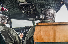 Piloting the B-17 (Janet's View2012) Tags: aircraft wwii pilot b17bomber willowrunairport historicaviation