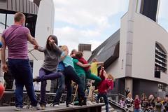 Flustcke015 - -_MG_8664 (thomesy) Tags: deutschland europa kunst tanz nordrheinwestfalen mnster mnsterland stadtbcherei deugermany nrwnordrheinwestfalen srasenkunst flurstcke015 chelyabinskcontemporarydancetheater miniaturesformuenster