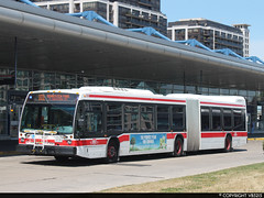 Toronto Transit Commission #9127 (vb5215's Transportation Gallery) Tags: toronto bus nova ttc transit commission artic lfs 2014