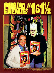 Public Enemies, Forrest Ackerman and James Warren, at the Famous Monsters Filmcon (Tom Simpson) Tags: vintage 1974 frankenstein 1975 1970s comiccon con jameswarren forrestackerman publicenemies famousmonstersfilmcon