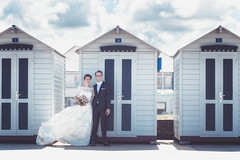 Mariage de Camille et Charles : la plage (SAM & TIM) Tags: wedding charles shooting mariage dieppe camille