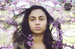 Gwen | Redbud (Jessica Lisbeth) Tags: flowers girl may mayflowers