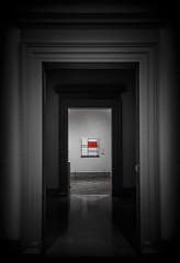 Piet Mondrian (Michael Shoop) Tags: michaelshoop stlouis saintlouis missouri usa pietmondrian stlouisartmuseum painting red forestpark canon7dmarkii