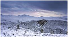 Cairngorms View (IanMcConnachie) Tags: canon5dmkiii cairngorms cairngormsnationalpark winter snow snowylandscape scotland view mountain river dof
