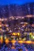 Winter weather in Bergen, Norway (Paulius Bruzdeilynas) Tags: bergen norway norge norwegian winter weather snow holliday trip travel window rain evening dark badweather sony sonyalpha sonya7ii