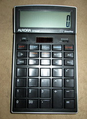 Aurora Calculator. (dccradio) Tags: lumberton nc northcarolina robesoncounty calculator numbers add subtract multiplcation division aurora dt920p direckey equals addingmachine electronics calculate clear cce margin sell cost off switch lcd solarpanel playbutton tax rate ac allclaer mc memoryclear 1 2 3 4 5 6 7 8 9 00 photooftheday photo365 pictureoftheday project365