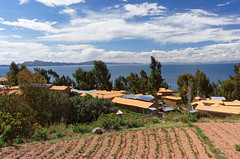 Widok na jezioro Titicaca | Panoramic view on the lake Titicaca